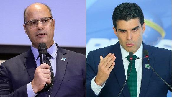 Governadores Witzel do Rio e Helder Barbalho do Pará estão com ...