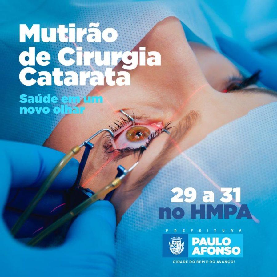 MUTIRÃO DE CIRURGIA DE CATARATA 01